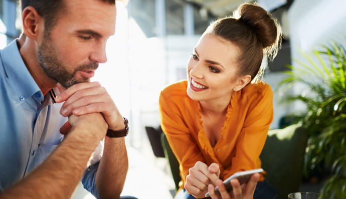 Does your partner use any euphism when they flirt with you?