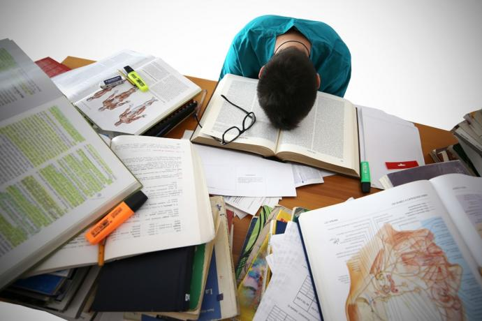How do you work past homework burnout and fatigue?
