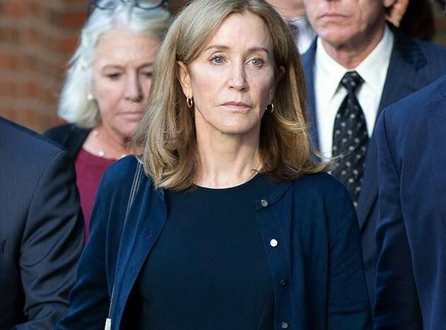 Felicity Huffman was sentenced to 14 days? Anyone think if Felicity Huffman wasn't a celeb she would be jailed longer?
