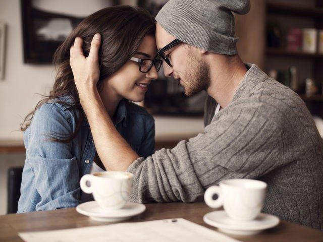 Do you find it difficult to kiss your partner in public?