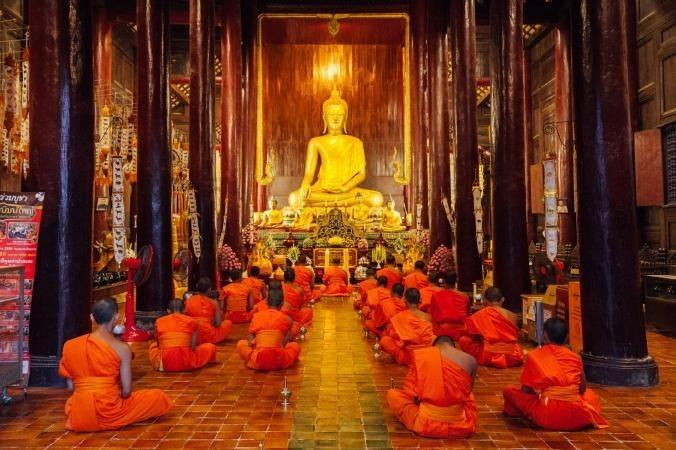 Does Buddhism believe in a god? Is Buddha a god to buddhisms beliefs?