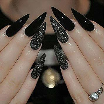 Which type of long fingernails do you think look best?