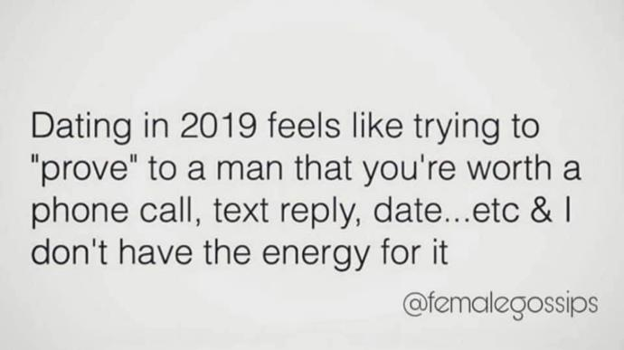 Why does dating in 2019 suck so bad?