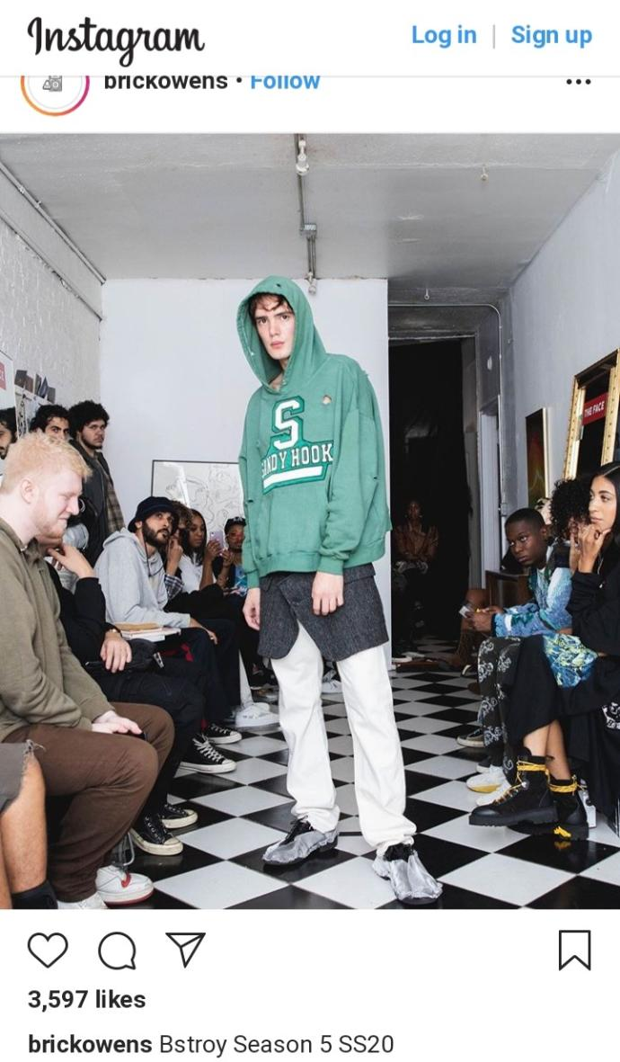 Designer slammed for 'disgusting hoodies inspired by mass school shootings. Thoughts?