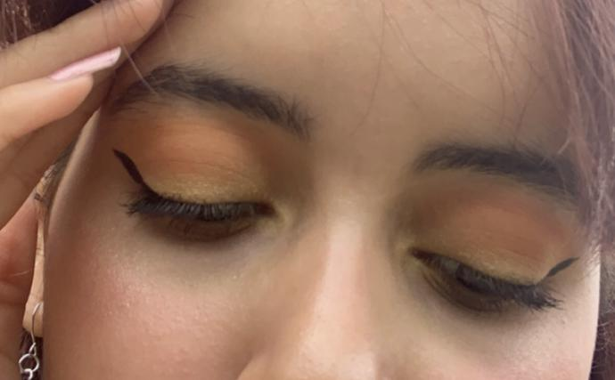 Today was my first day using my new palette how does my makeup look?