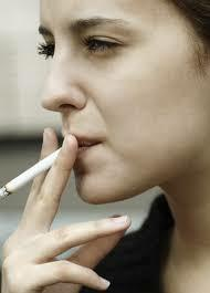 Not encouraging smoking, but when is a time that you thought