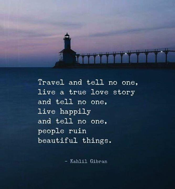 Would you travel to amazing places and not post it on social media??