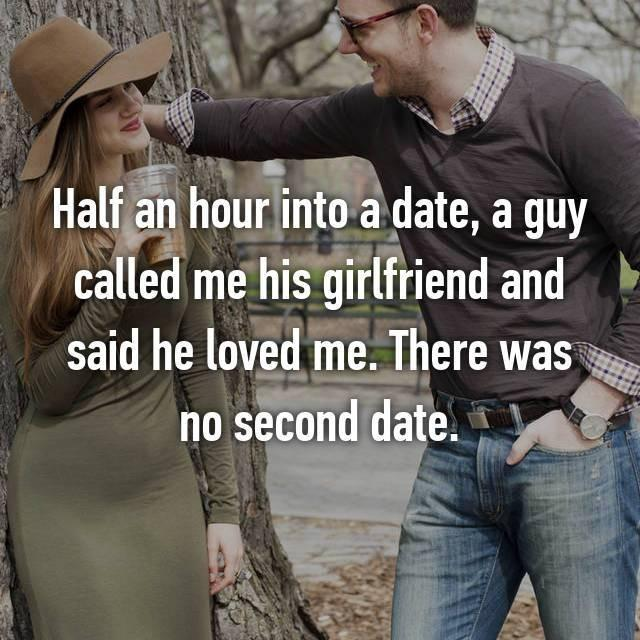 What are some reasons that you have for NOT giving someone a second date?