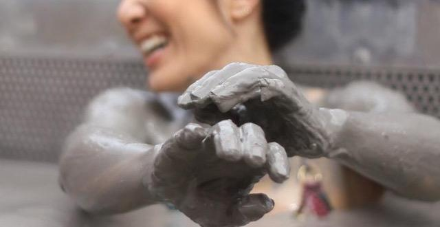 Do you like natural mud bath?