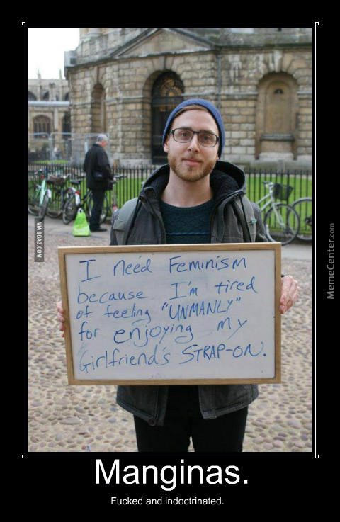 Why do low T Male Feminist have weird sexual fetishes?