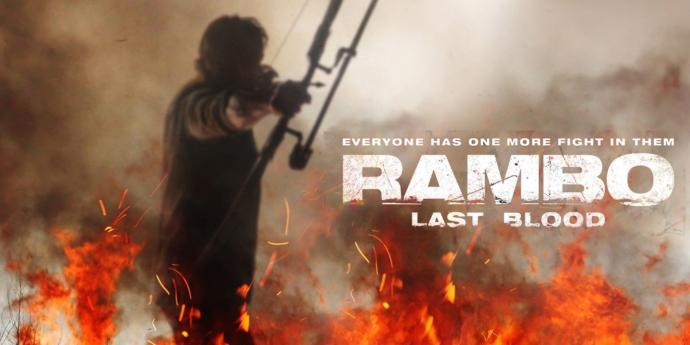 Have you gone to see Rambo last blood?