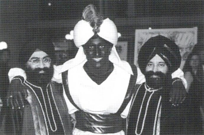 Canadian PM dressed as Aladdin