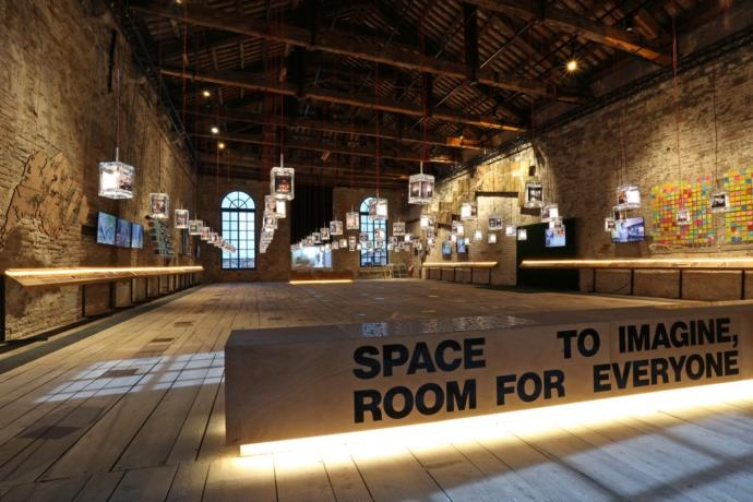 2016 Singapore Pavilion for Venice Biennale 'Space to Imagine For Everyone'