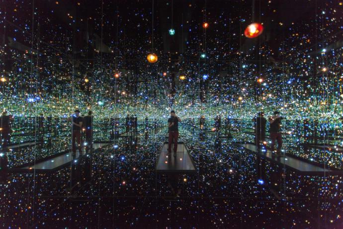 'Infinity Mirrors' by Yayoi Kusama