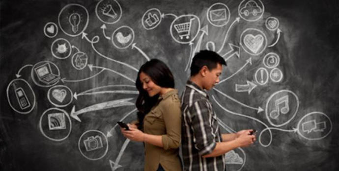Does social media play a part in a relationship? How?