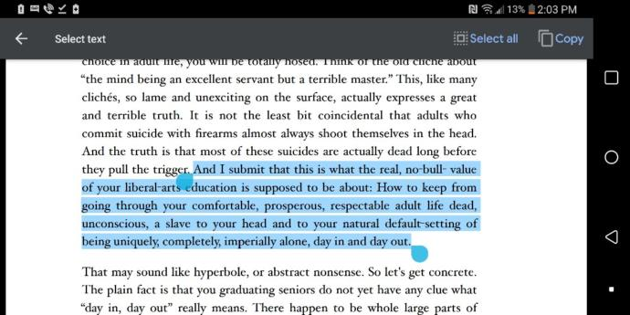 Can any native English speaker help me with this highlighted Quote?