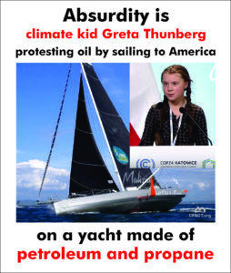 Greta Thurnberg. After her deranged display showed how emotionally unstable she is should she be put into an institution?