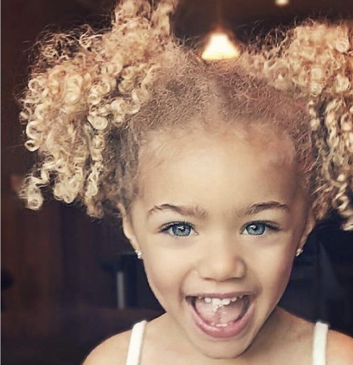 Why do people believe every mixed kid looks like this?