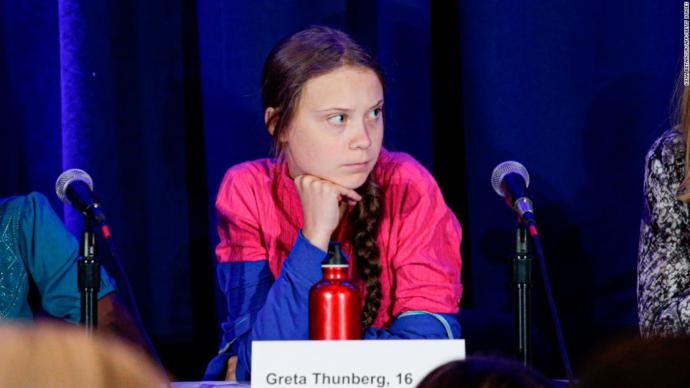 Do you agree with Greta Thunberg or do you think she's a political tool (or somewhere in between)?
