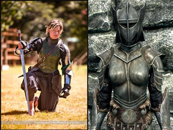 Video Game: The Elder Scrolls V Skyrim (right)