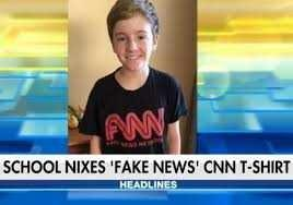 What should you tell your child, about all the ongoing cnn fake news stories?