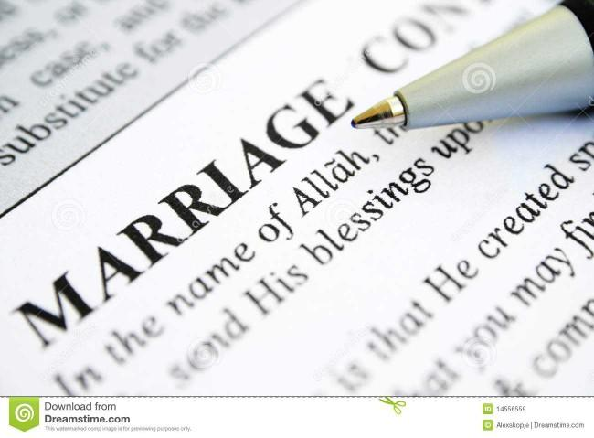 What's divorse after 12 years like without a marriage contract?