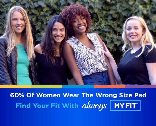 If 60% of women wear the wrong size pad, what percentage of men wear the wrong size pad?