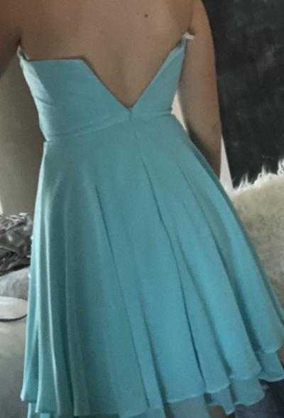 of the research strapless dress won't zip