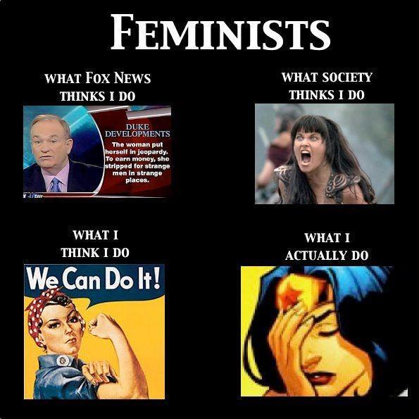Has extreme Feminism damaged the reputation of Feminism?