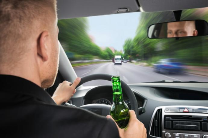 Do you think it's safe to be intoxicated while driving?