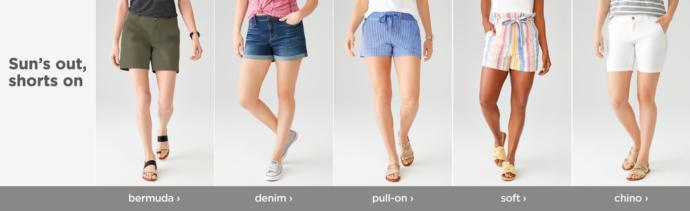 What shorts do you think look best on girls?