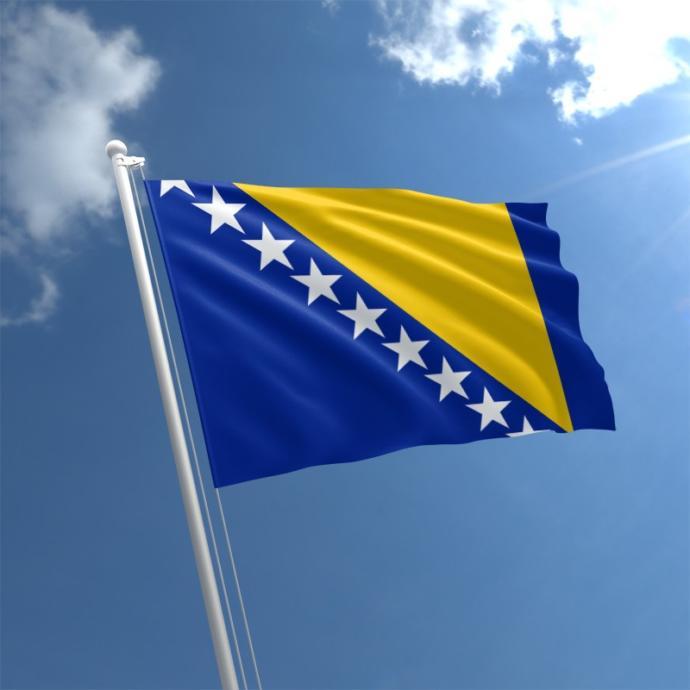Flag of Bosnia-Hercegovina