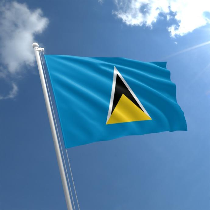 Flag of St Lucia