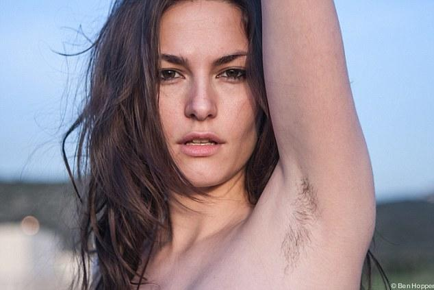 Why is society bothered by a woman's body hair?
