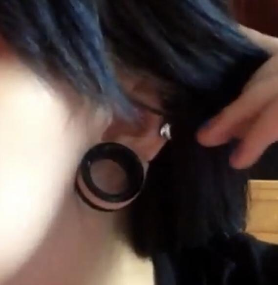 stretched ears