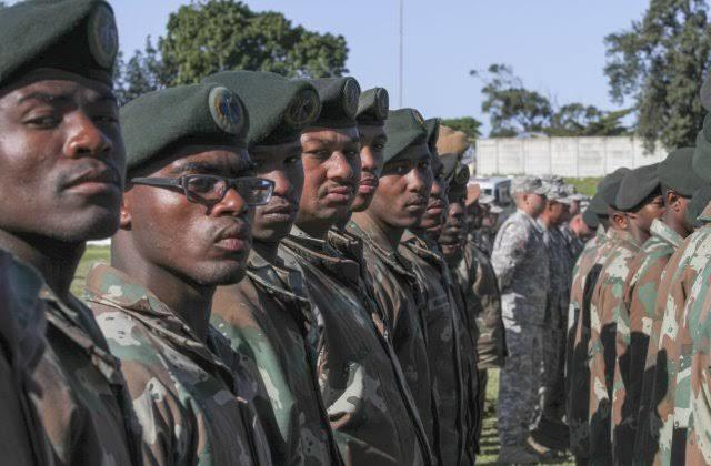 South African armes forces 🇿🇦