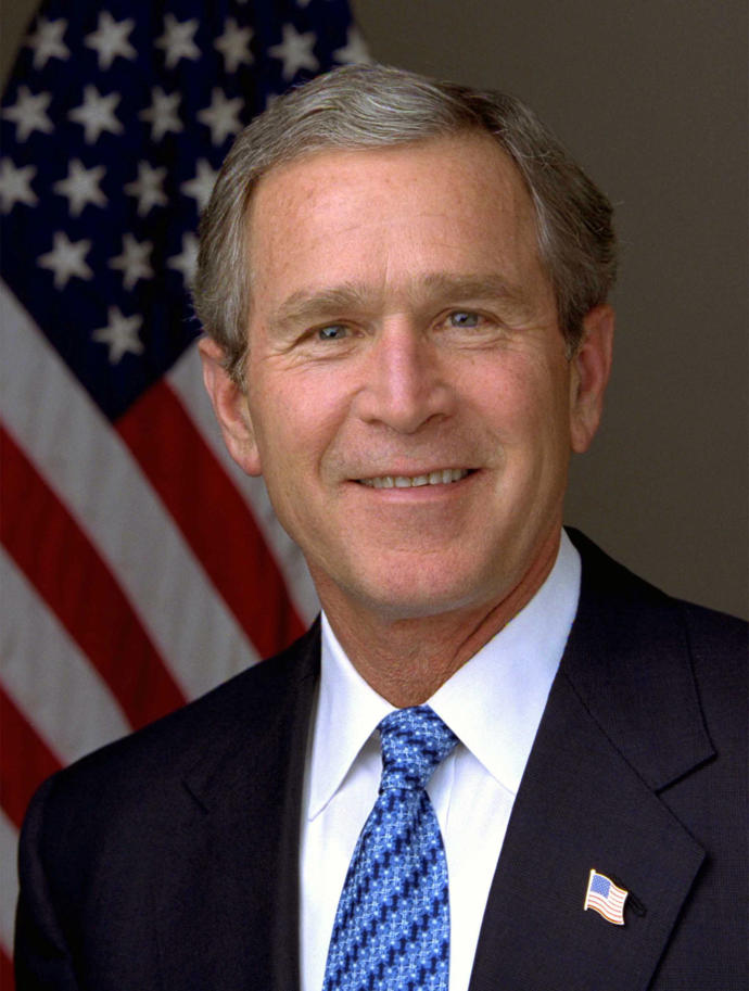 Was George W. Bush a great president?