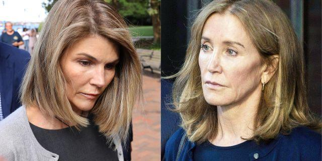 If convicted in the College Admissions Scadal, how much more time in prison do think Lori Laughlin should serve compared to that of Felicity Huffman?