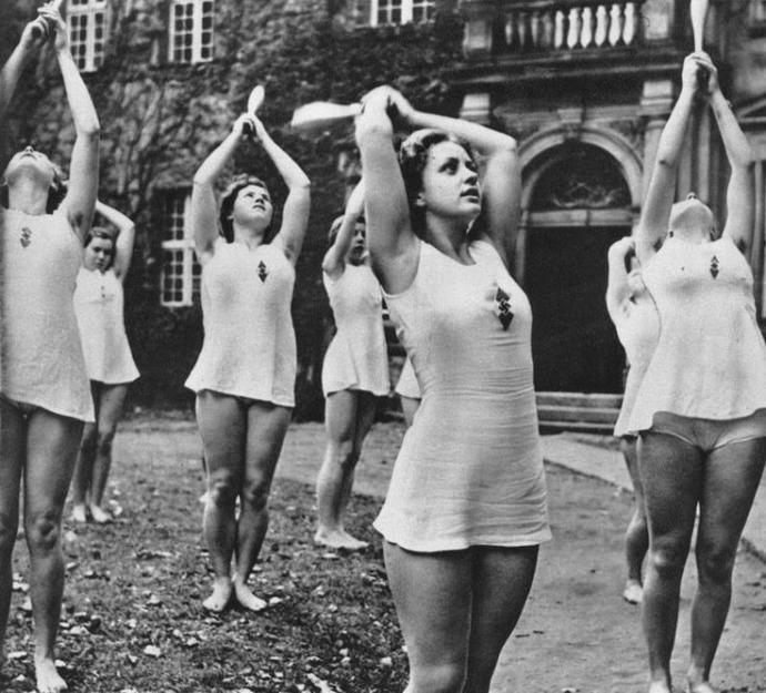 Women were healthier hotter in the Past?