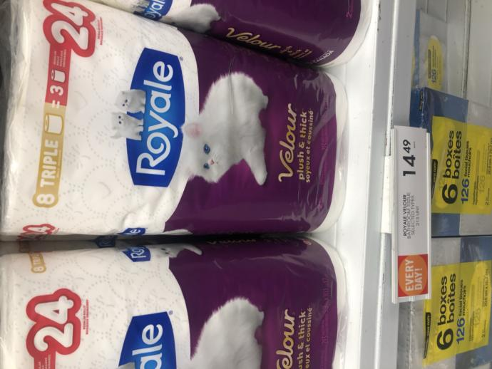 Would you pay $14.49 for toilet paper?