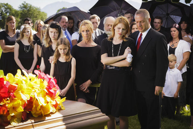 If you have been dating someone less than a month and one of their parents died, do you show up to the funeral?