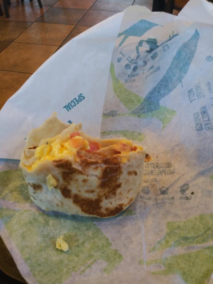 Ever had Taco Bell Breakfast?