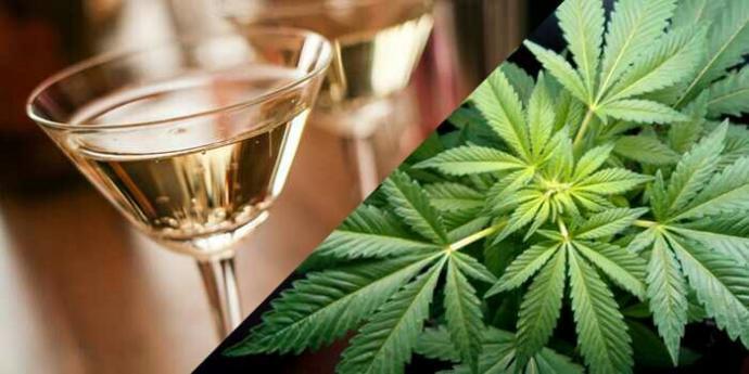 What's worse? Smoking marijuana or drinking alcohol?