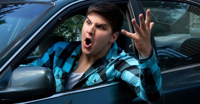 Which is worse for creating road rage?