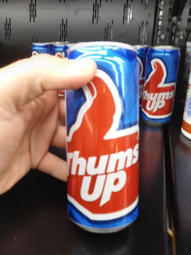 Have you ever heard of thums up cola and if not would you try it?