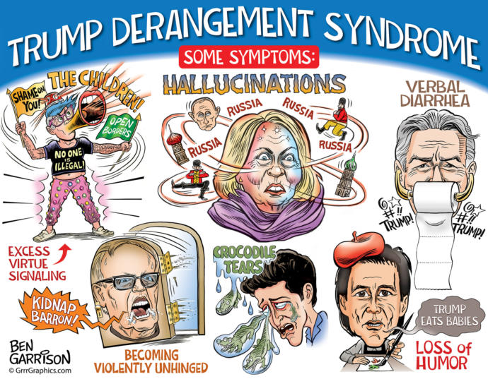 Do you someone who has been infected by the dibilitating malady known as Trump Derangement Syndrome or TDS? If so, what are treatment options for it?