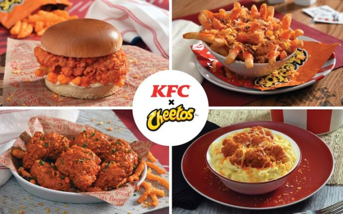 Would you try KFC's CHEETOS Chicken sandwich?
