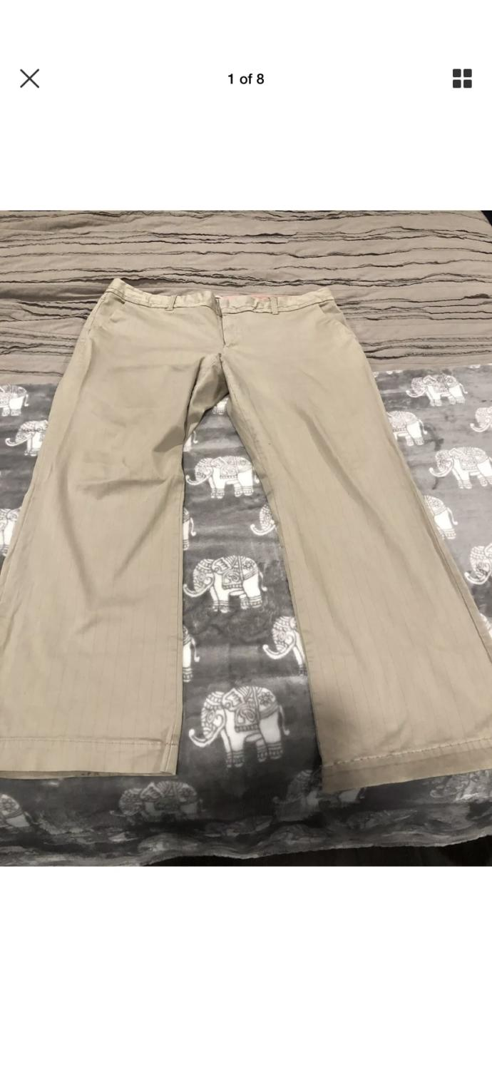 My girlfriend wants me to wear her nice khaki pants for a date do you think I should do it?