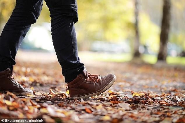 Walking and walking and walking...
