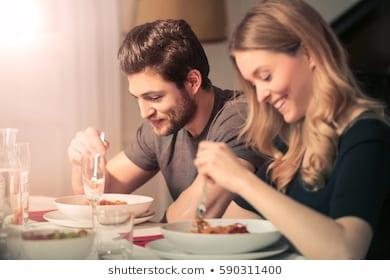 After an argument, have you ever made up with food and eating together?